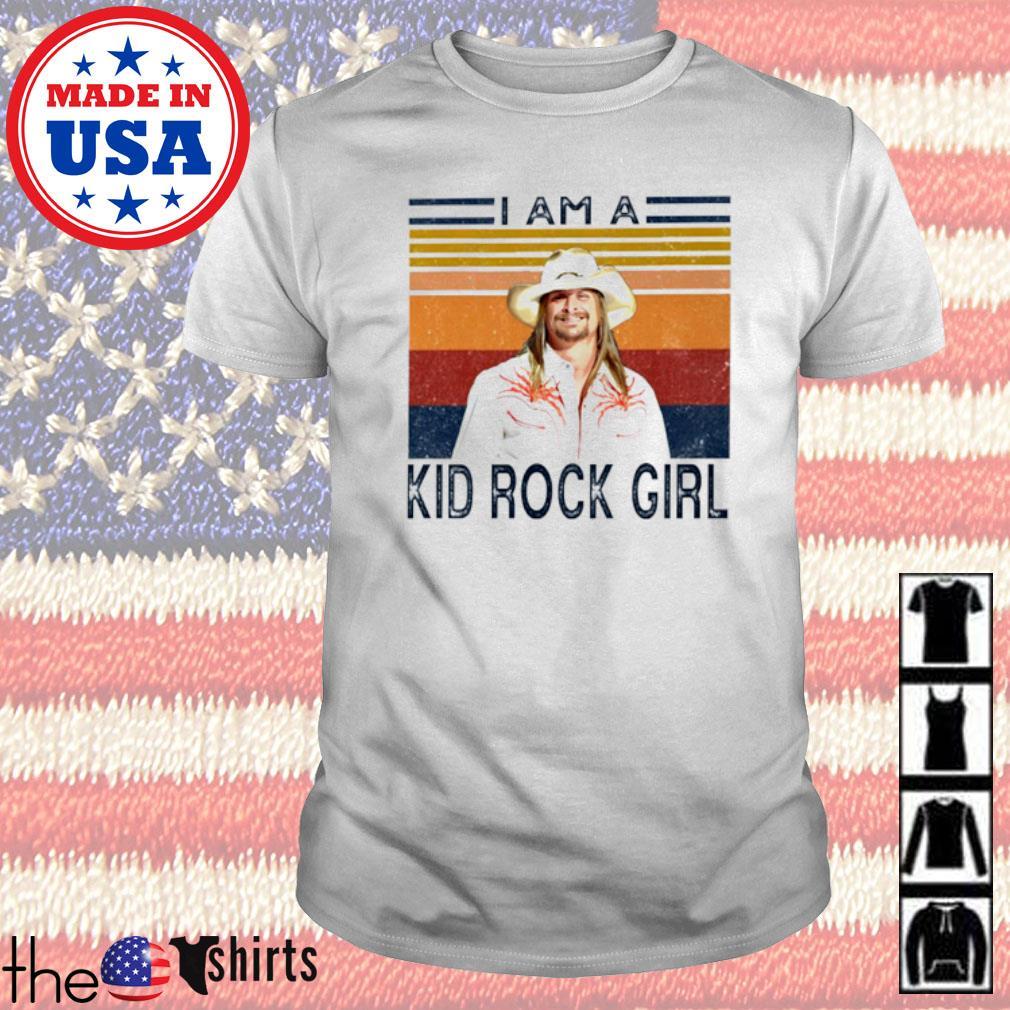 Vintage I am a Kid Rock girl shirt