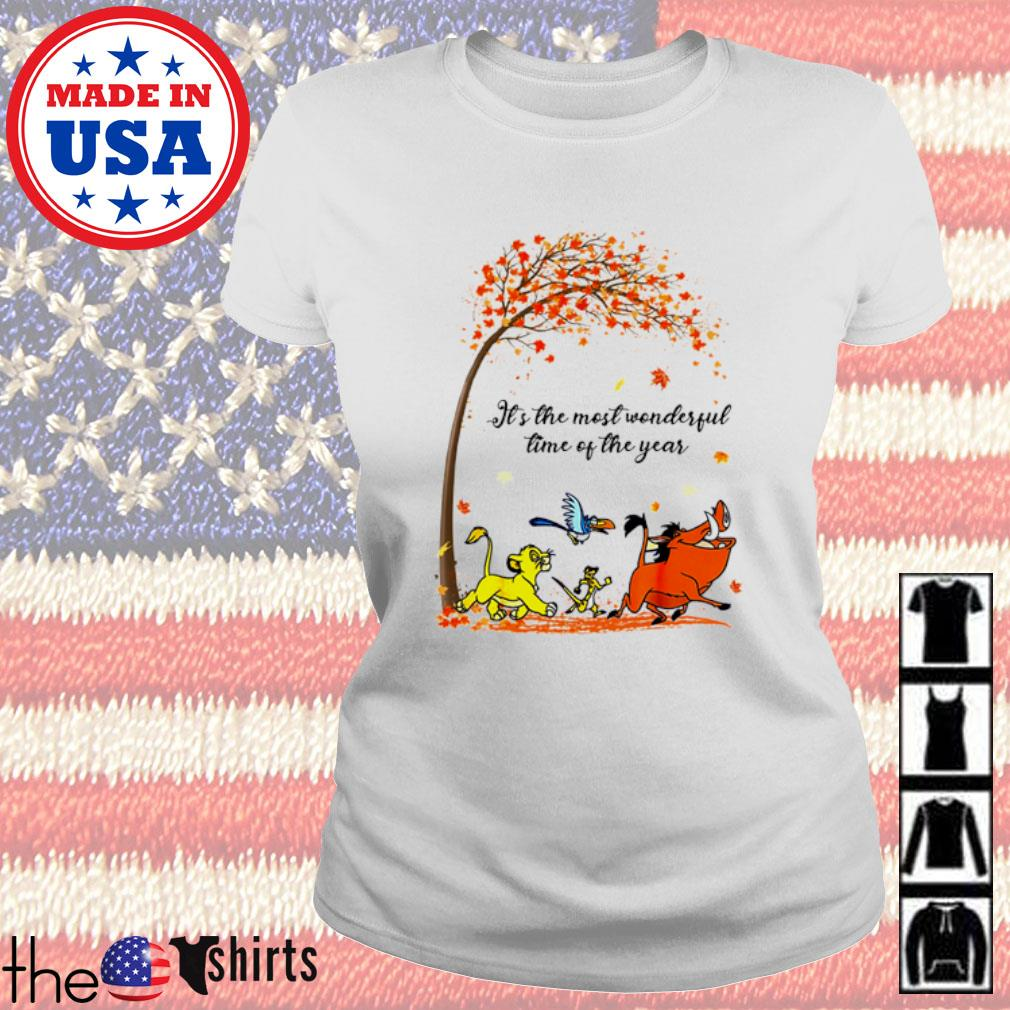 Autumn Hakuna Matata it's the most wonderful time of the year s Ladies Tee White