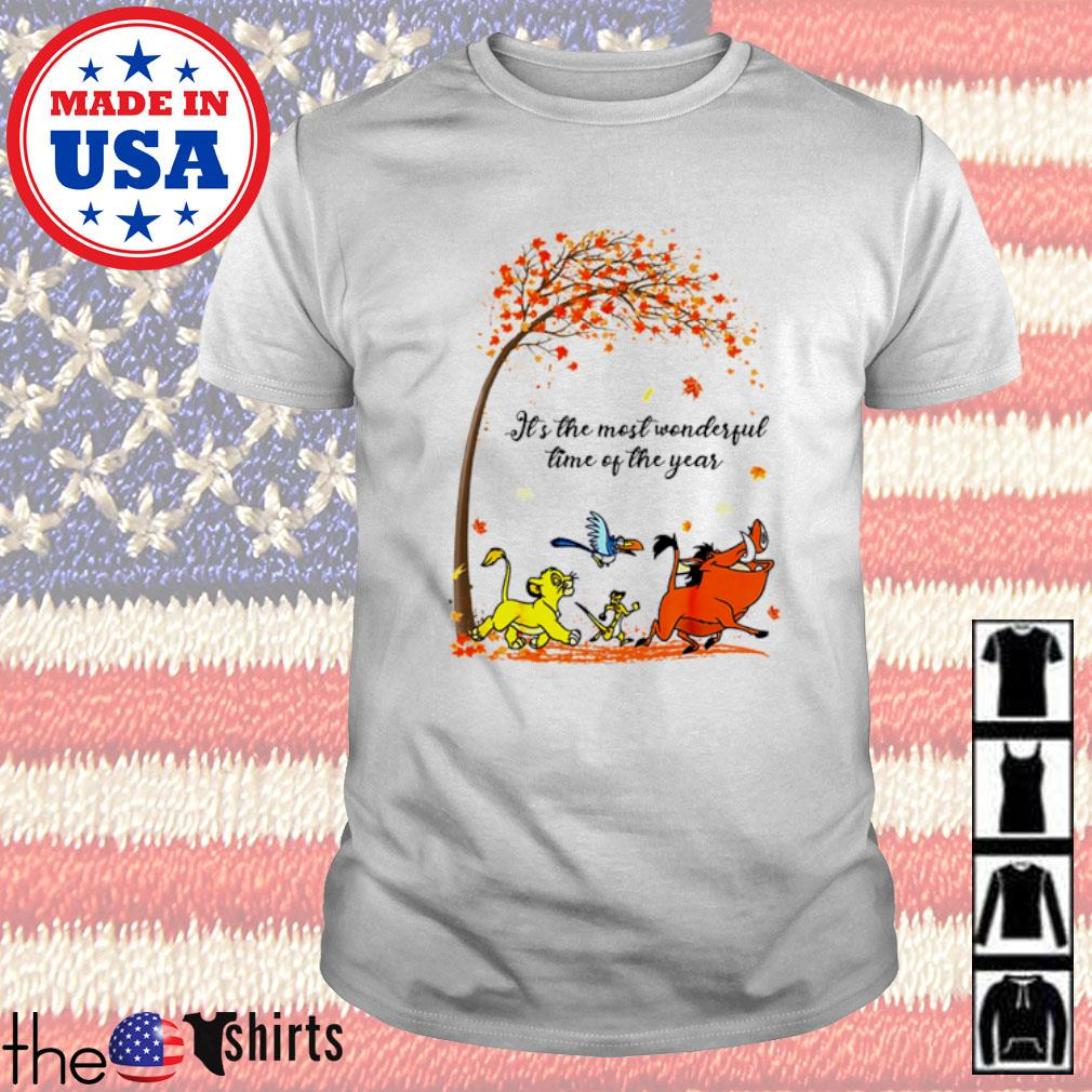 Autumn Hakuna Matata it's the most wonderful time of the year shirt