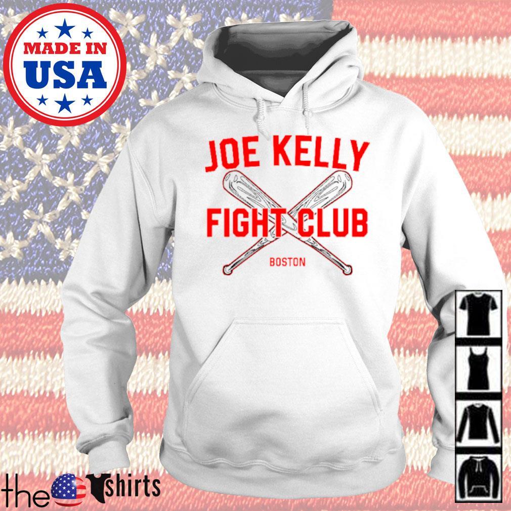 Baseball Joe Kelly fight club Boston Red Sox s Hoodie White