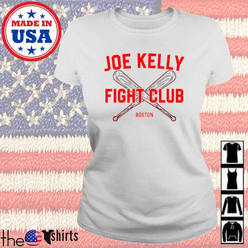 Baseball Joe Kelly fight club Boston Red Sox s Ladies Tee White