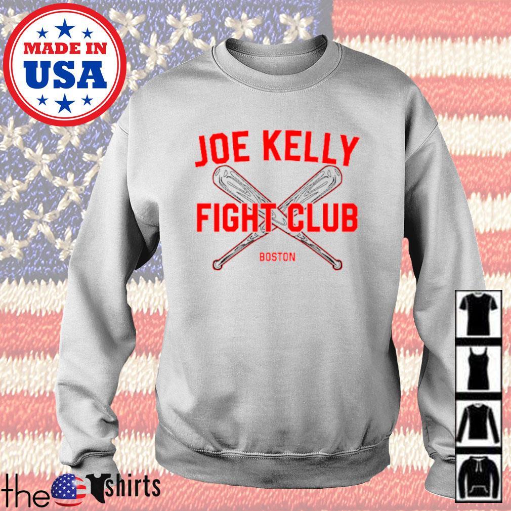 Baseball Joe Kelly fight club Boston Red Sox s Sweater White