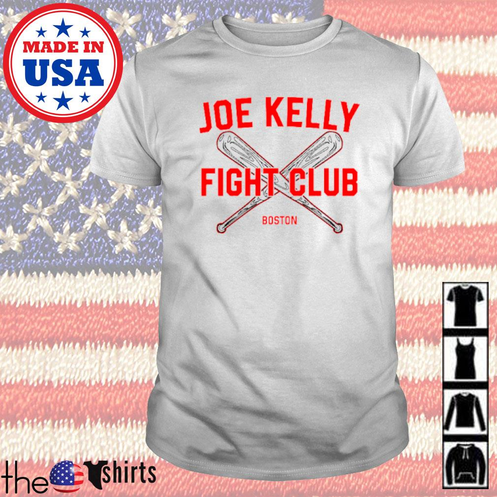 Baseball Joe Kelly fight club Boston Red Sox shirt