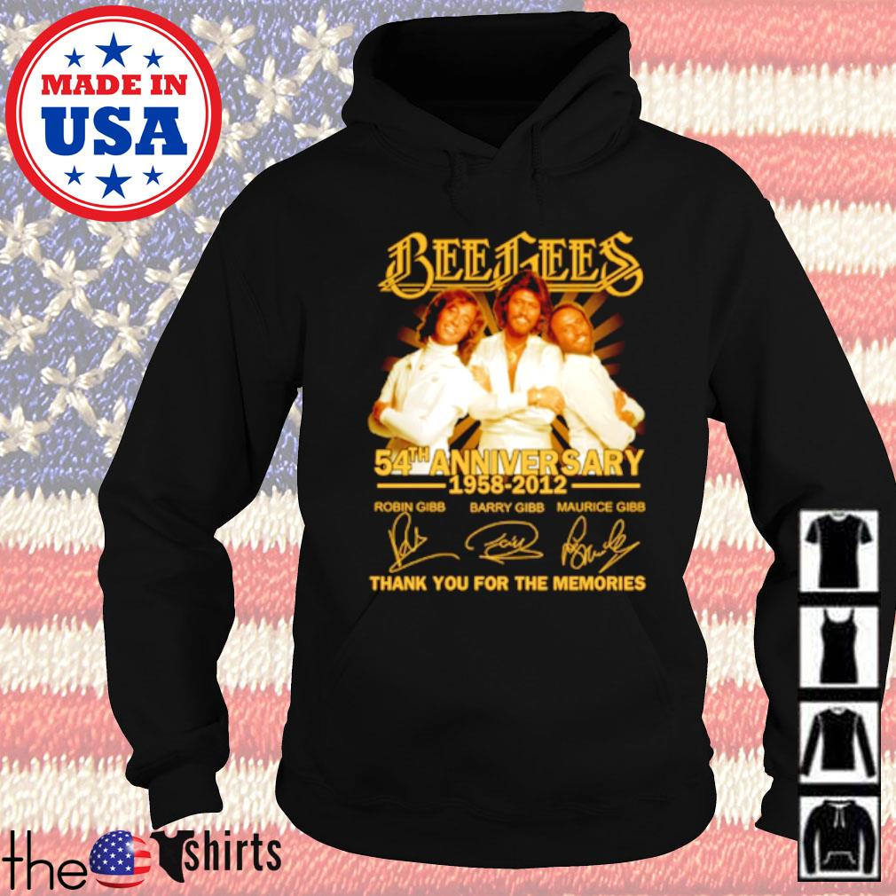Bees Bees 54th Anniversary 1958-2012 all member signatures s Hoodie Black