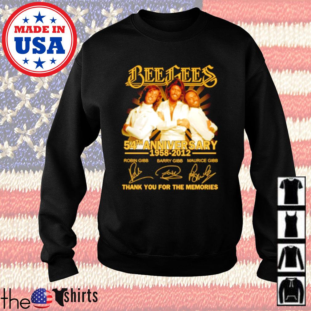 Bees Bees 54th Anniversary 1958-2012 all member signatures s Sweater Black