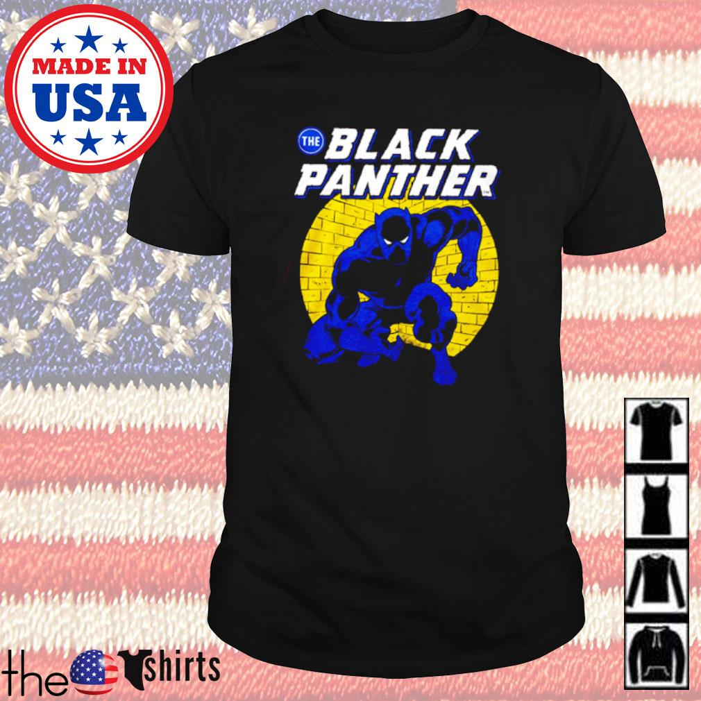 Black Panther Spotlight Traditional fit shirt