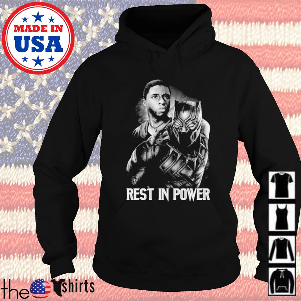 Chadwick Boseman Black Panther rest in power s Hoodie Black