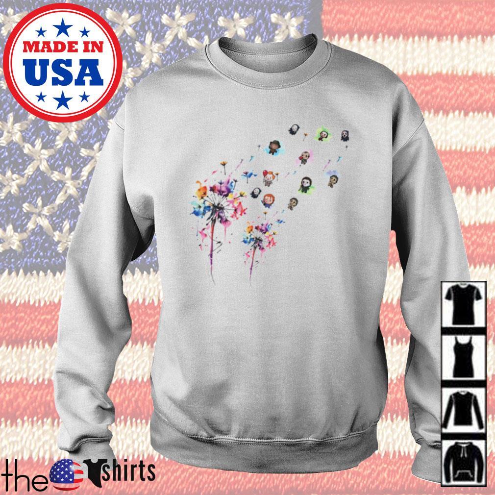 Dandelion horror characters movies art s Sweater White
