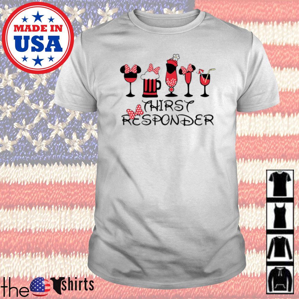 Disney Mickey Thirsy Reaponder shirt