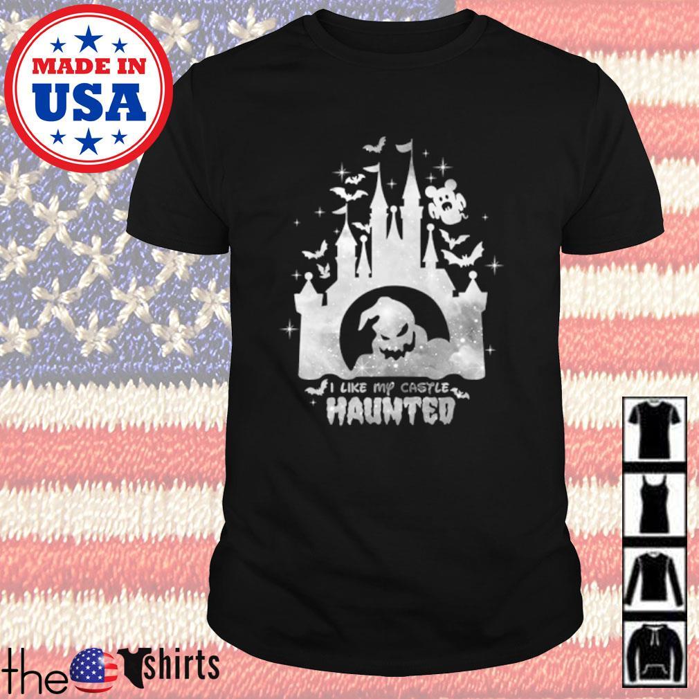 Disney world I like my castle haunted shirt