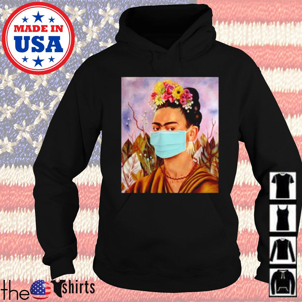 Frida Kahlo self mask women s Hoodie Black