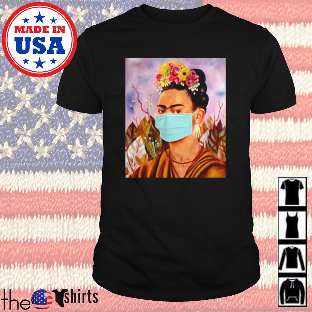 Frida Kahlo self mask women shirt