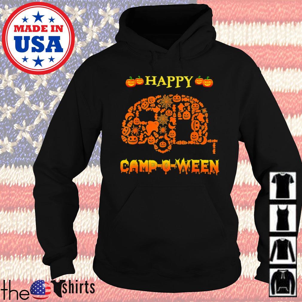 Halloween Happy Camp O Ween s Hoodie Black
