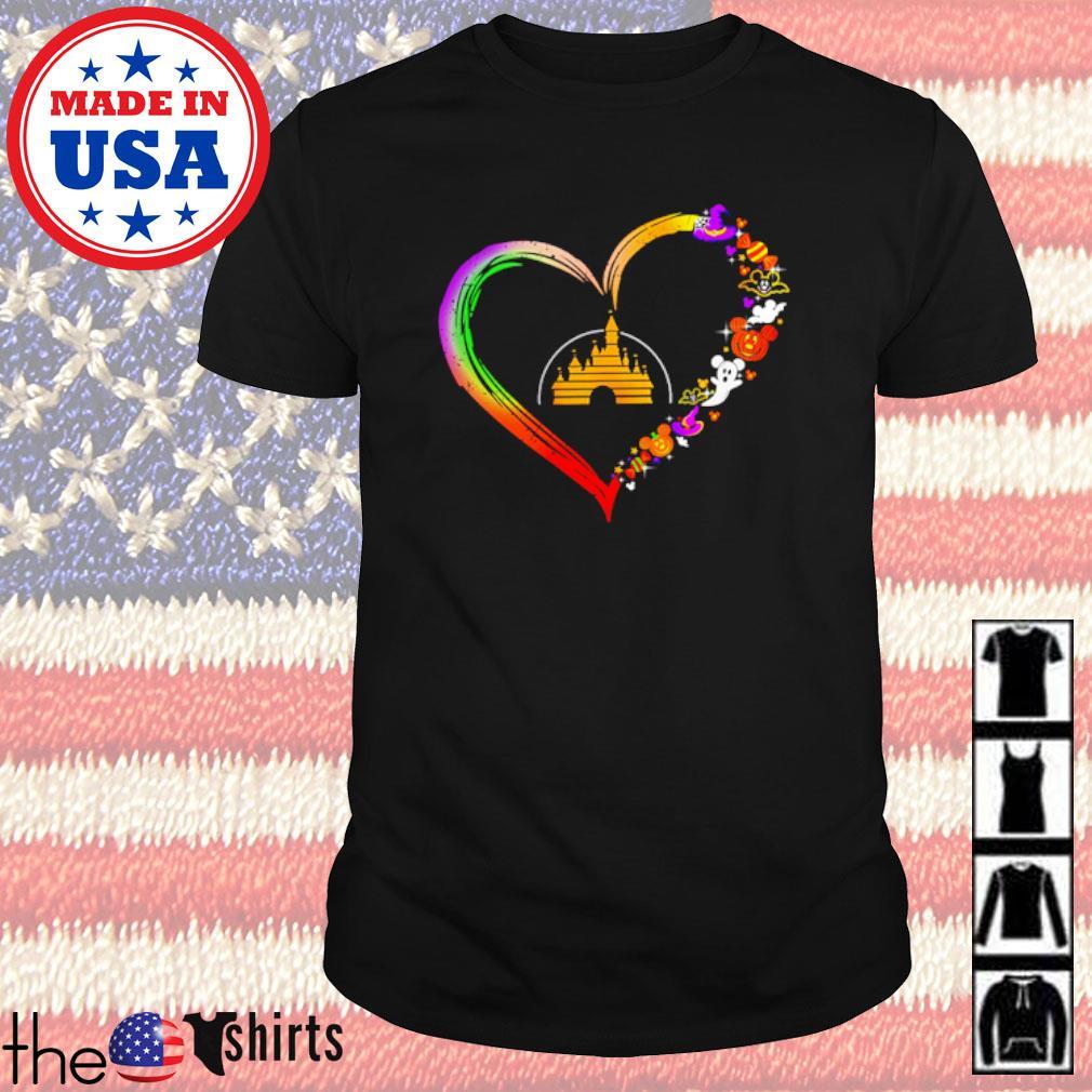 Halloween heart Disney shirt