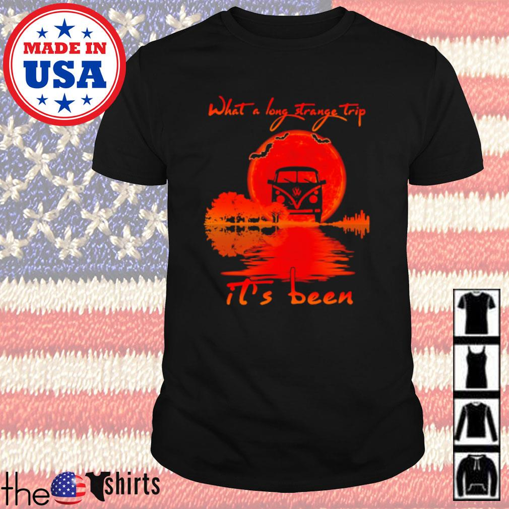 Halloween Hippie car what a long strange trip it's been shirt