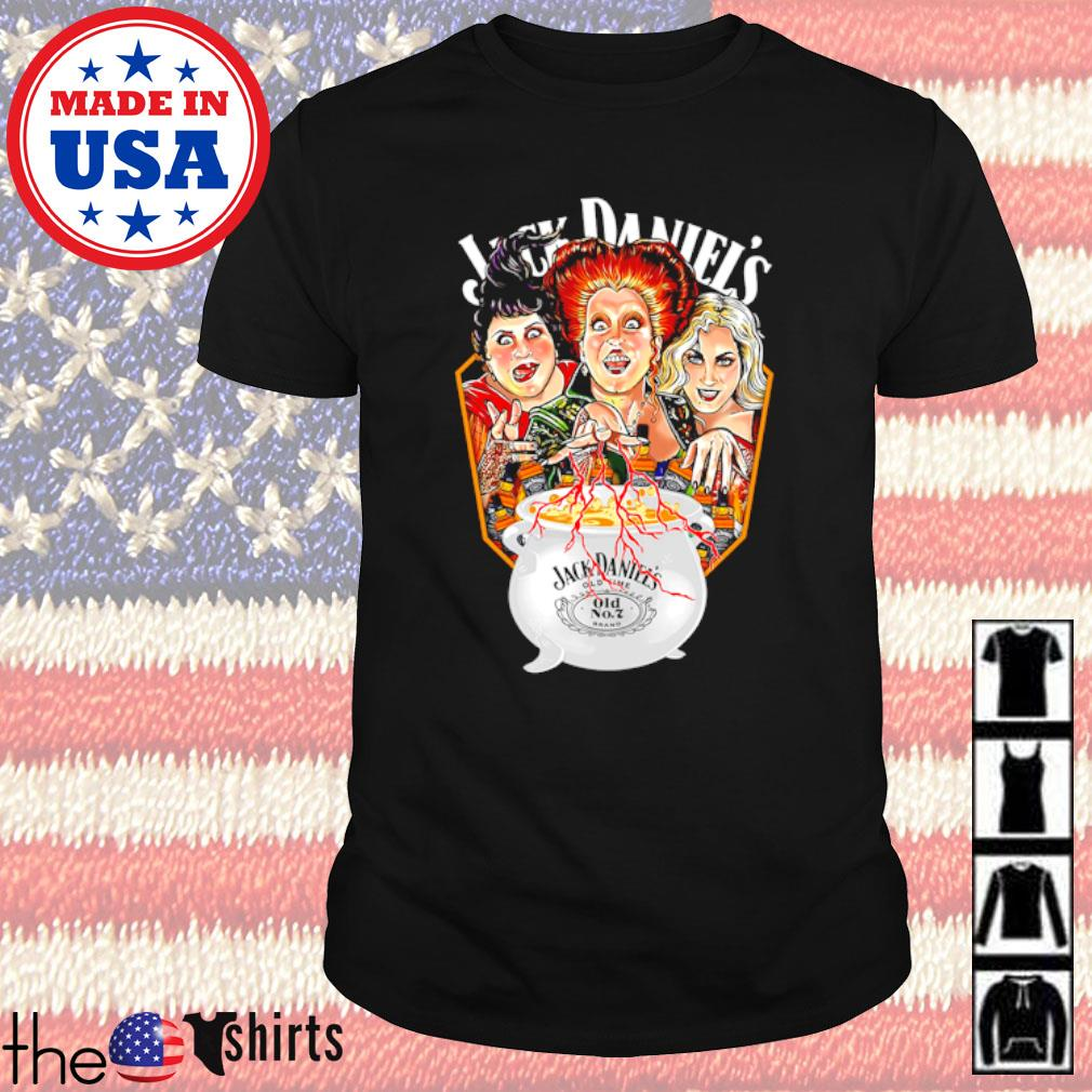 Hocus Pocus Sister Sandersons Jack Daniel's shirt
