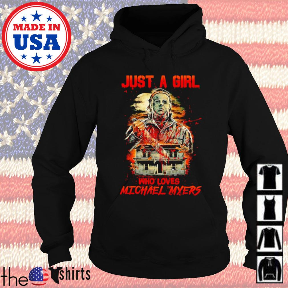 Horror characters just a girl who loves Michael Myers s Hoodie Black