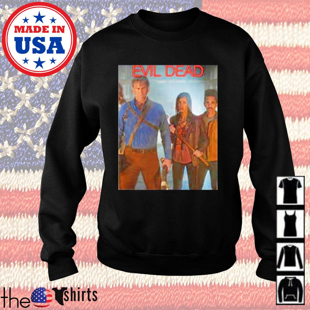 Horror movies Evil dead Ash vs Evil Dead s Sweater Black