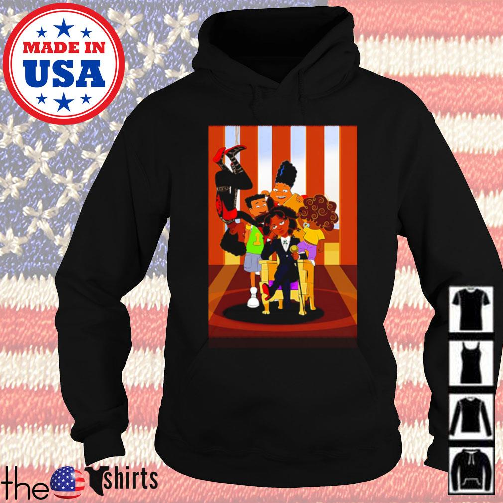 Hunx and His Punx cartoon s Hoodie Black