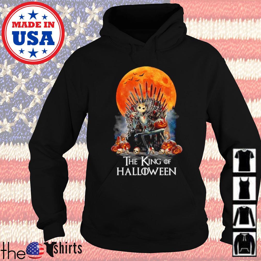 Jack Skellington the King of Halloween blood moon s Hoodie Black