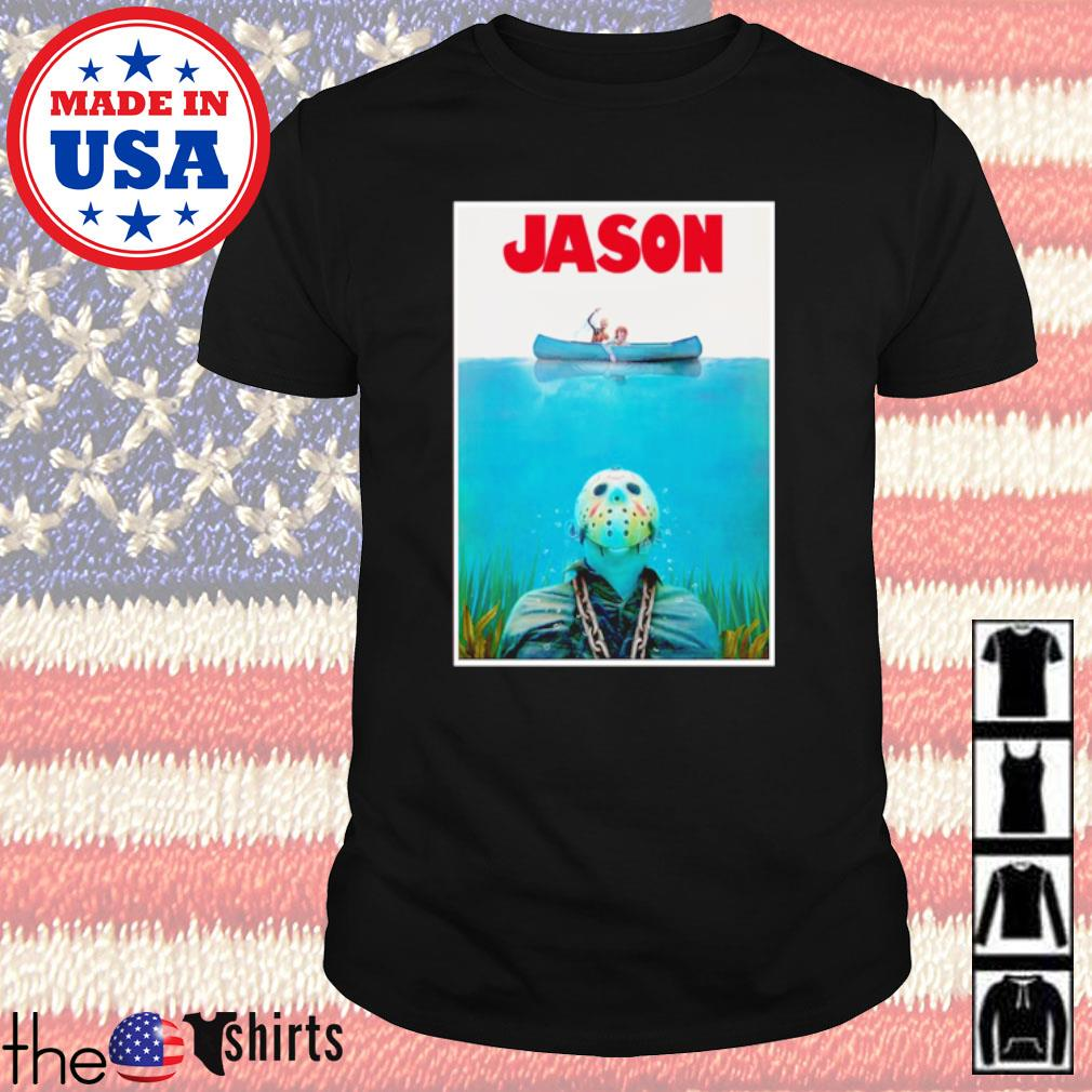 Jason Voorhees Jaws shirt
