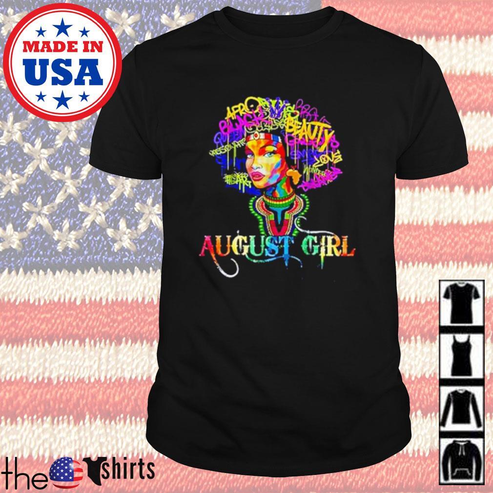 LGBT Pride August girl shirt