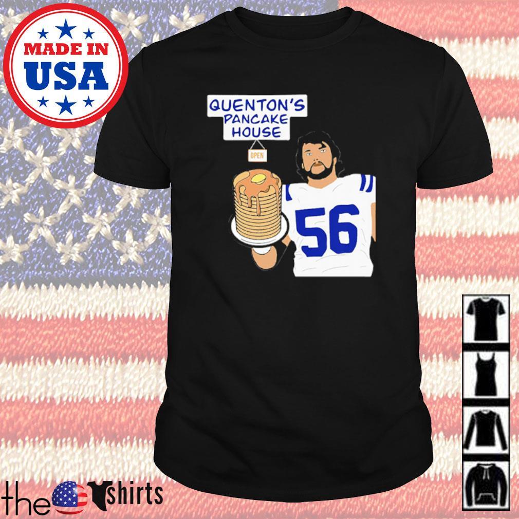 Quenton Nelson 56 pancake house shirt