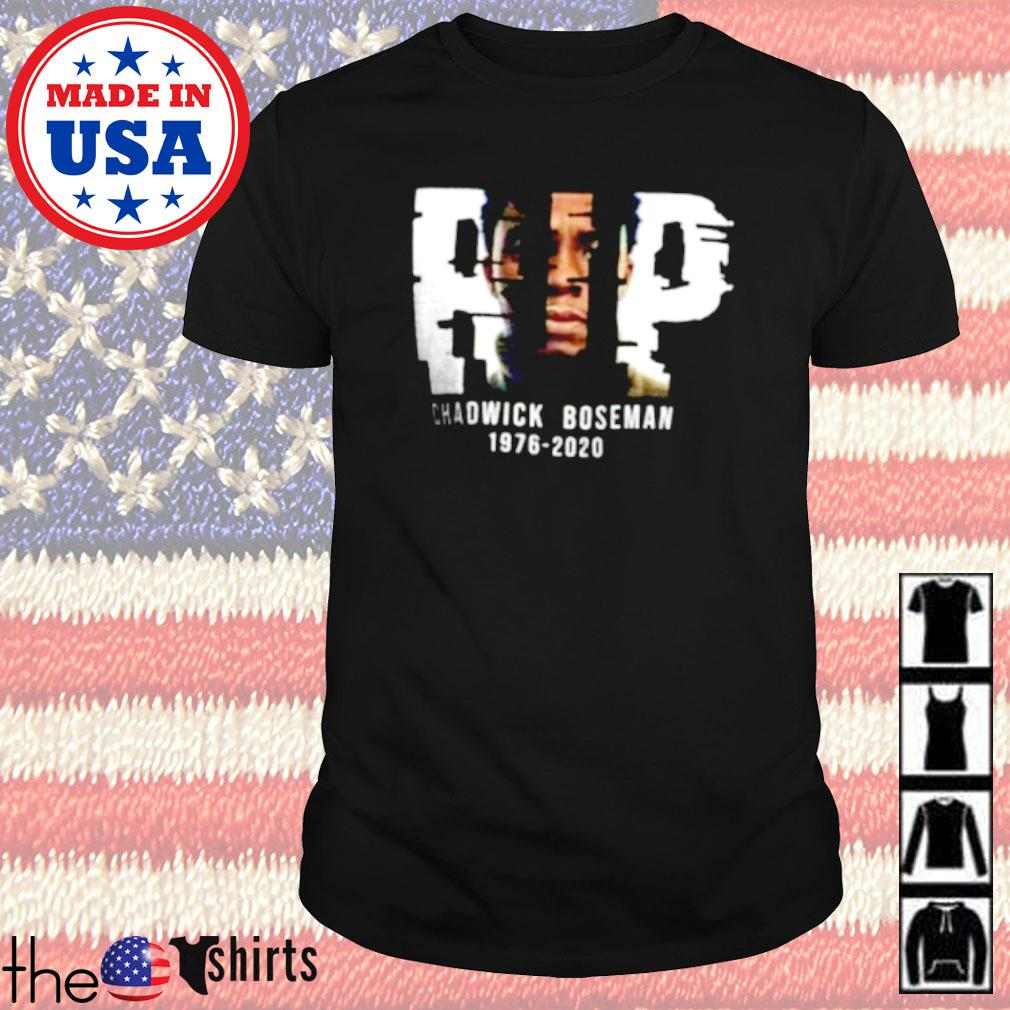 Rip Chadwick Boseman 1975-2020 shirt