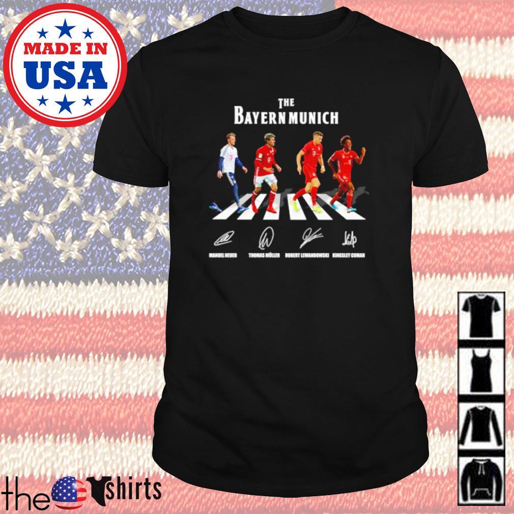 The Bayern Munich Abbey Road signatures shirt