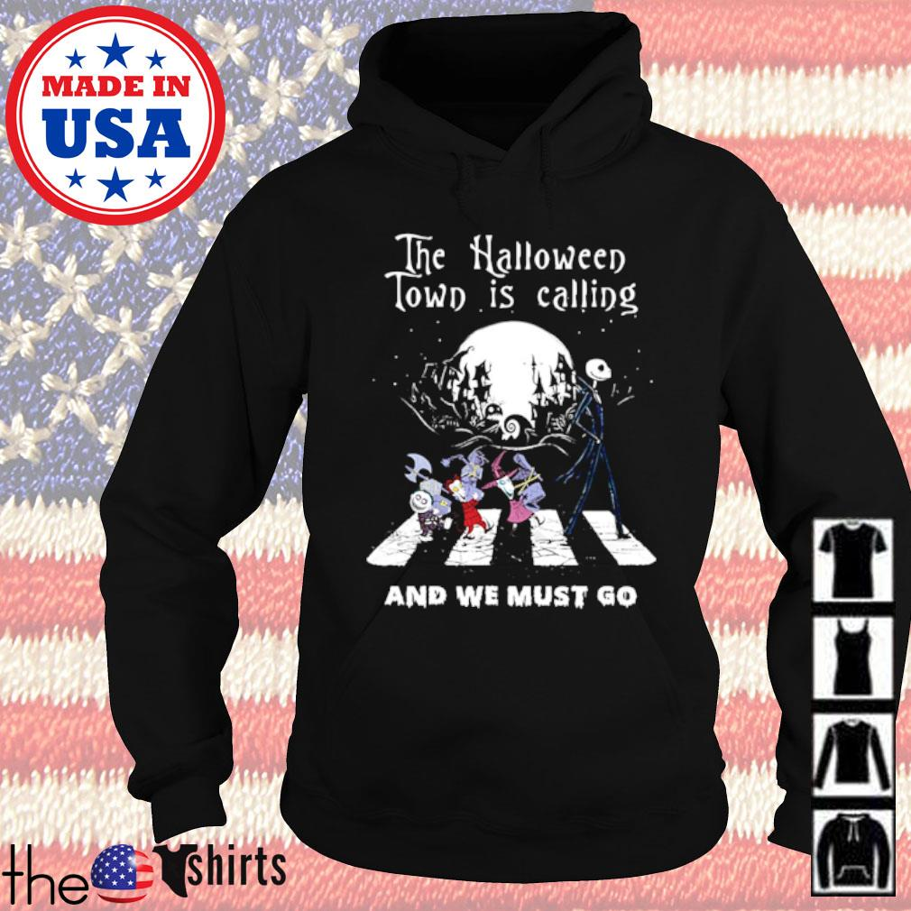 The Nightmare before Abbey Read the Halloween town is calling and we must go s Hoodie Black