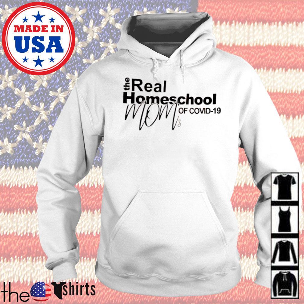 The real homeschool mom of COVID-19 quarantined s Hoodie White