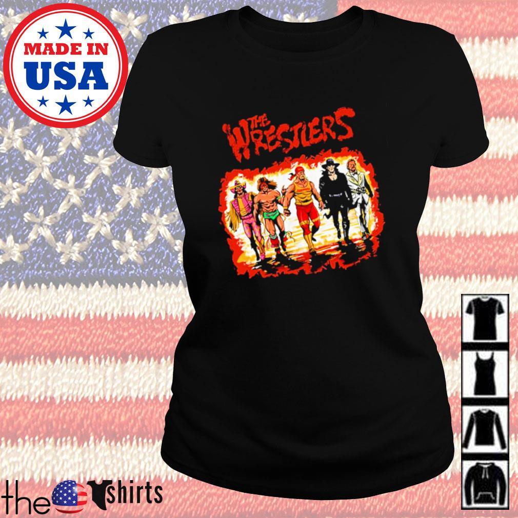 The Wrestlers s Ladies Tee Black