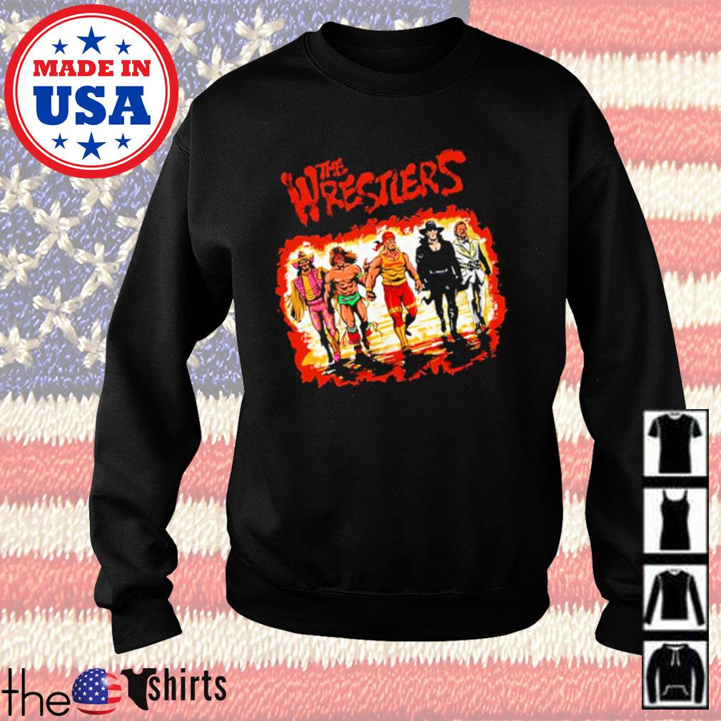 The Wrestlers s Sweater Black