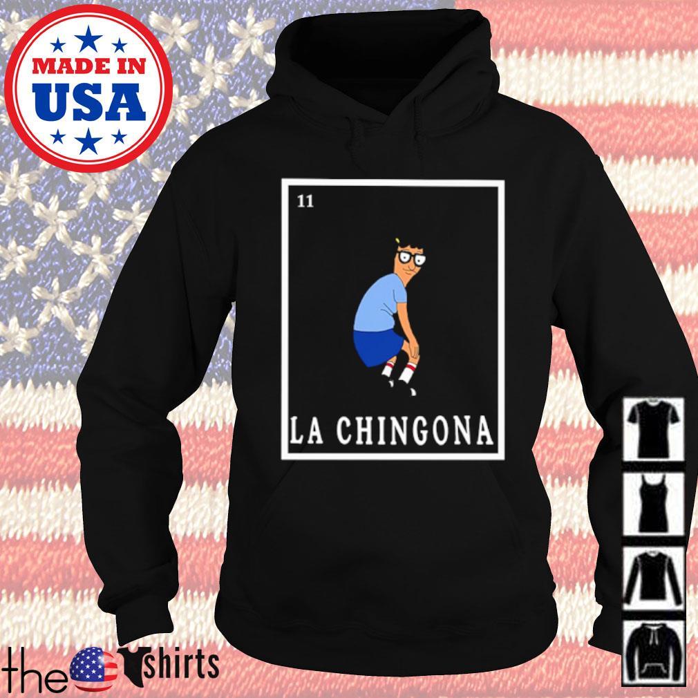 Tina Bob's Burger La Chingona s Hoodie Black