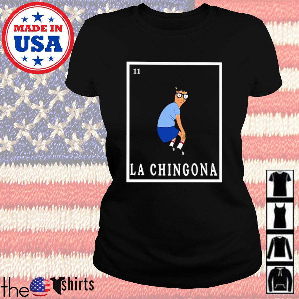 Tina Bob's Burger La Chingona s Ladies Tee Black