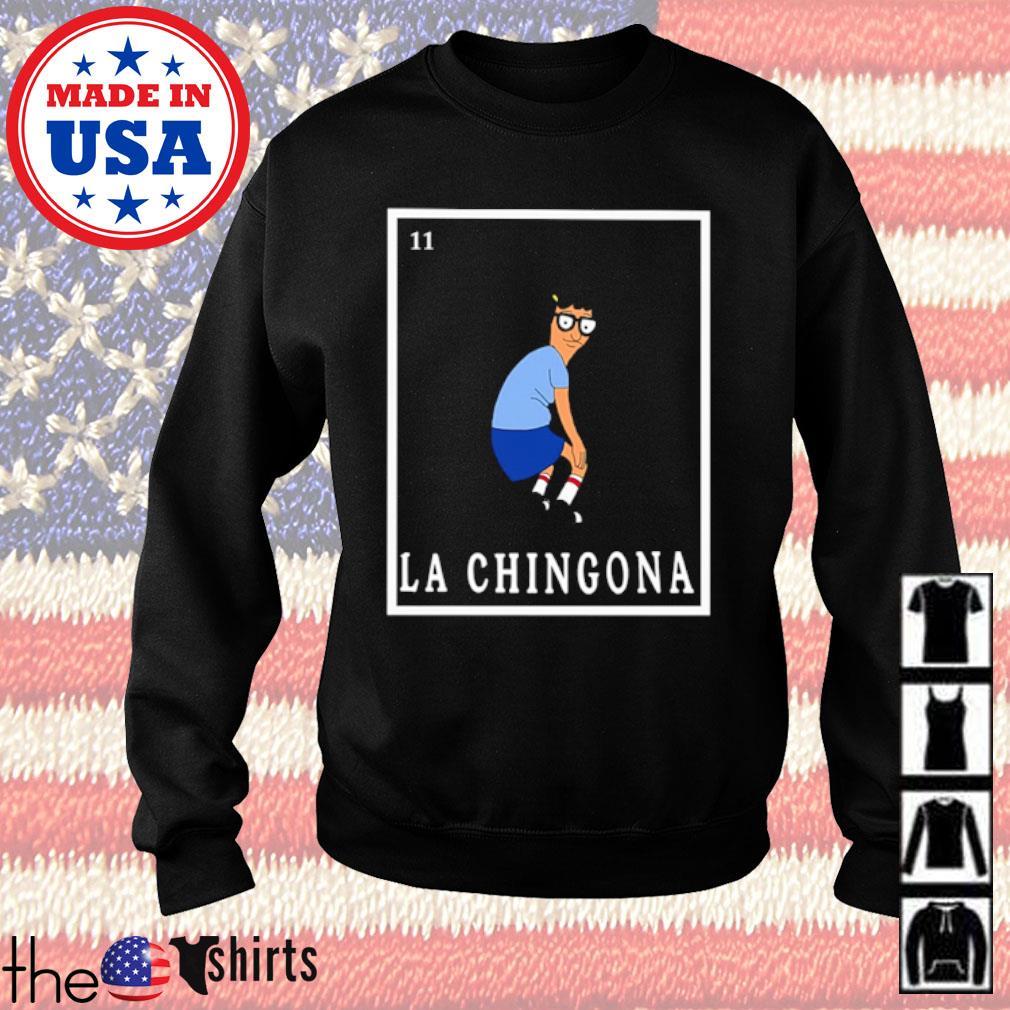Tina Bob's Burger La Chingona s Sweater Black
