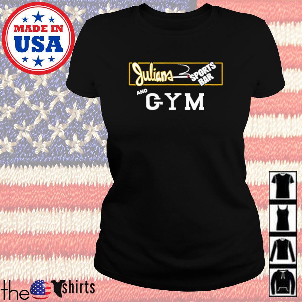 Trailer Park Boys Julian sports bar and gym s Ladies Tee Black