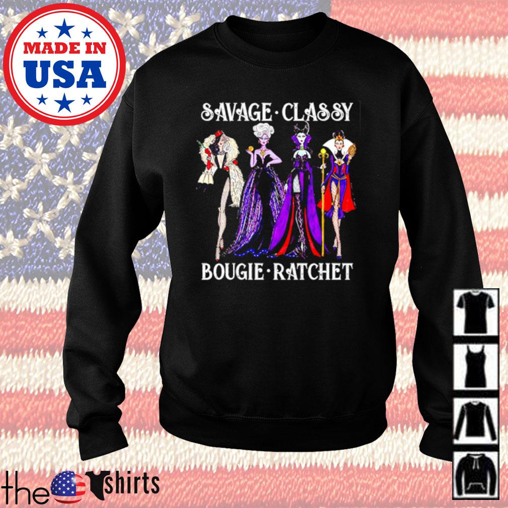 Villain savage classy bougie ratchet s Sweater Black