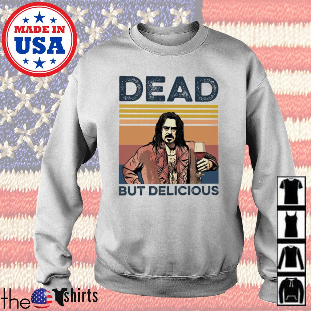 Vintage Dead but Delicious s Sweater White