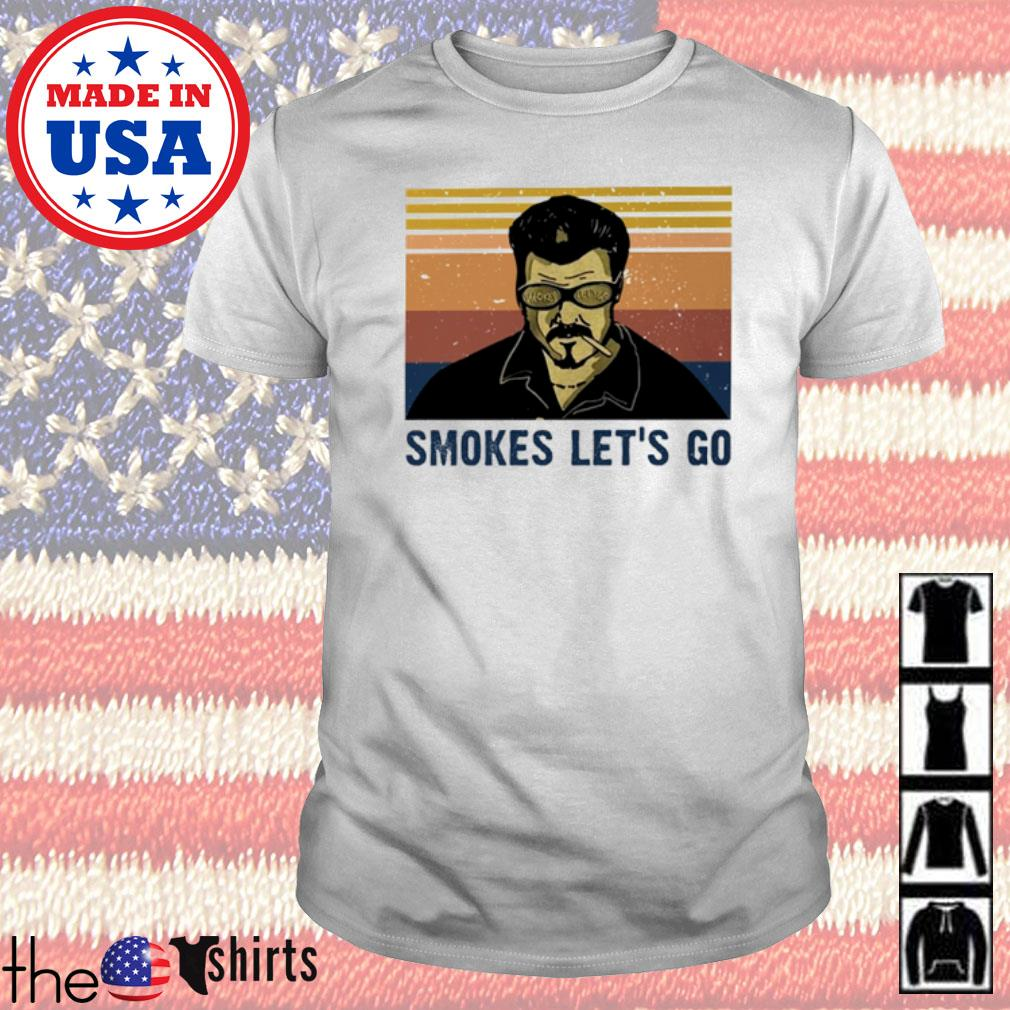 Vintage Elon Musk Smokers Let's Go shirt