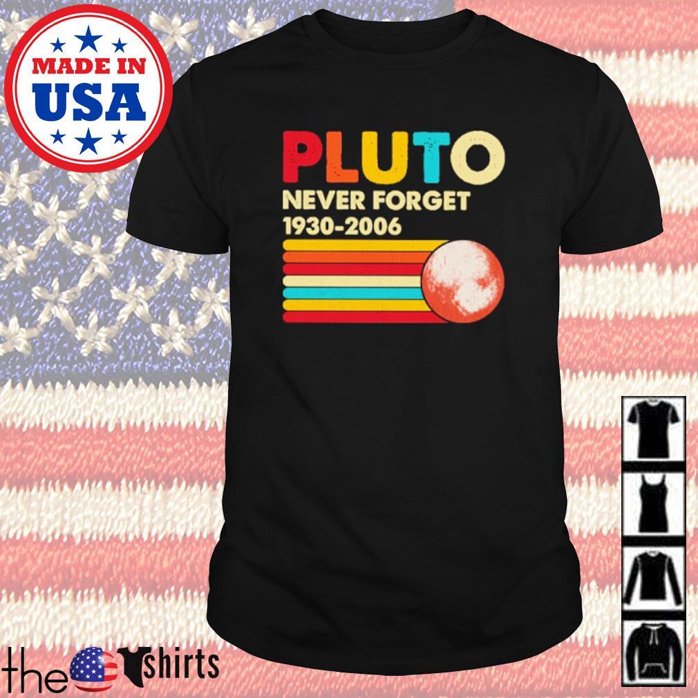 Vintage Pluto never forget 1930-2006 shirt