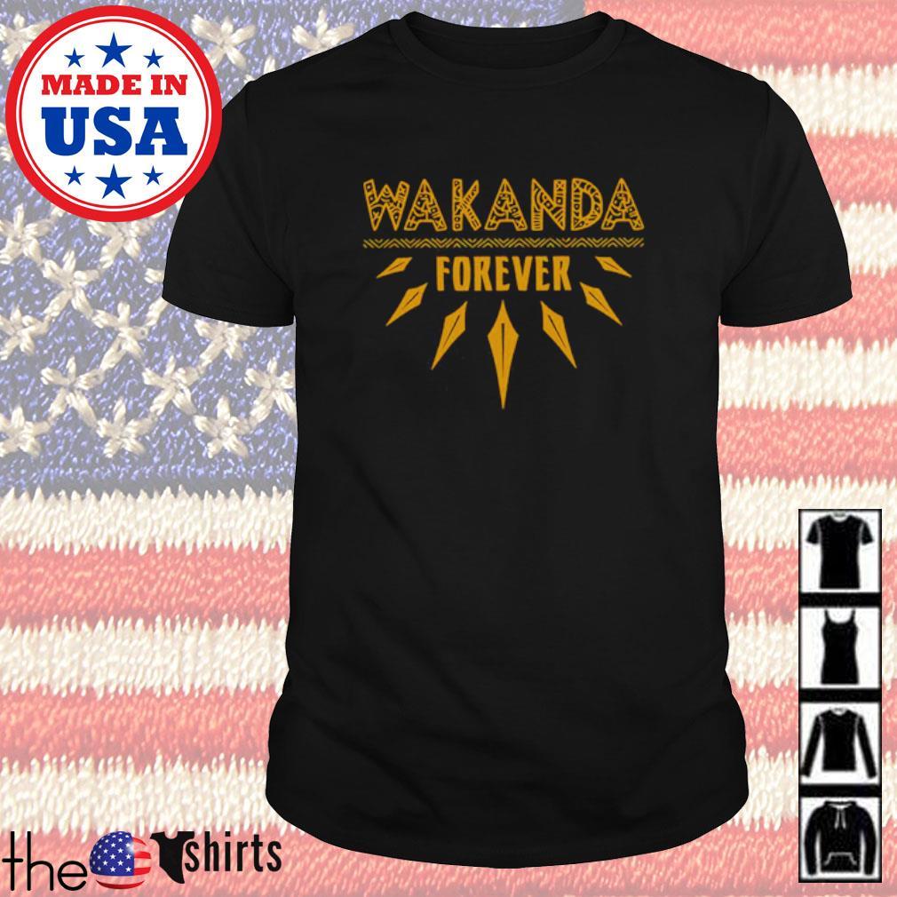 Wakanda Forever RIP Chadwick Boseman shirt