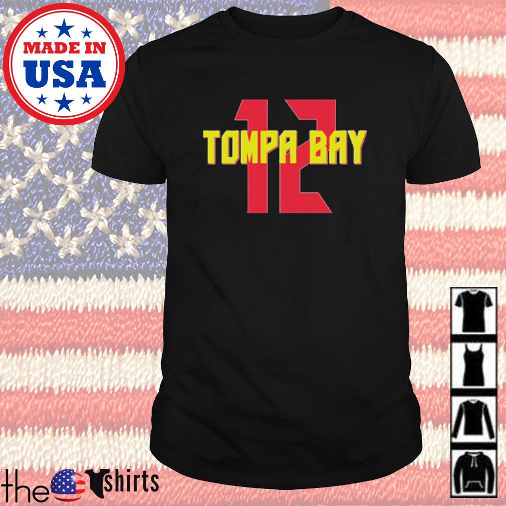 12 Tompa Bay shirt