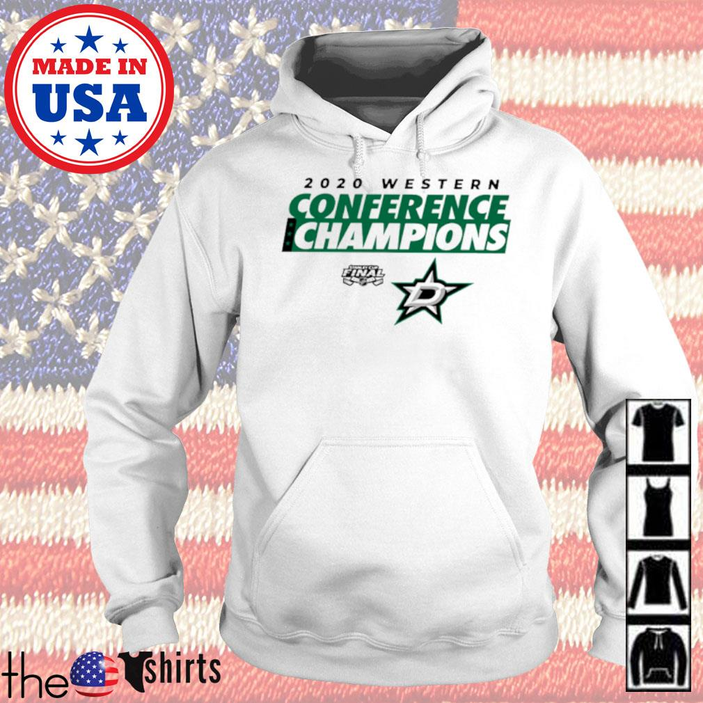 2020 Western Conference Champions Dallas Stars s Hoodie White
