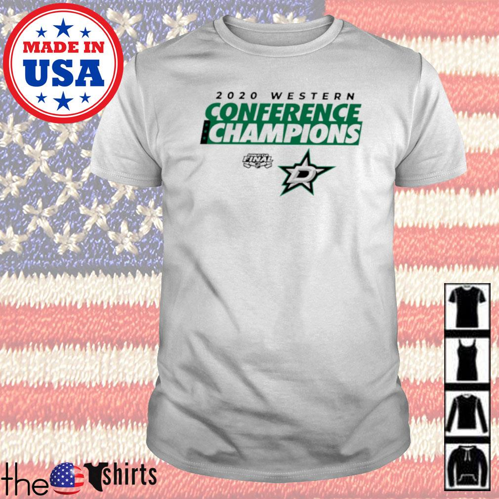 2020 Western Conference Champions Dallas Stars shirt