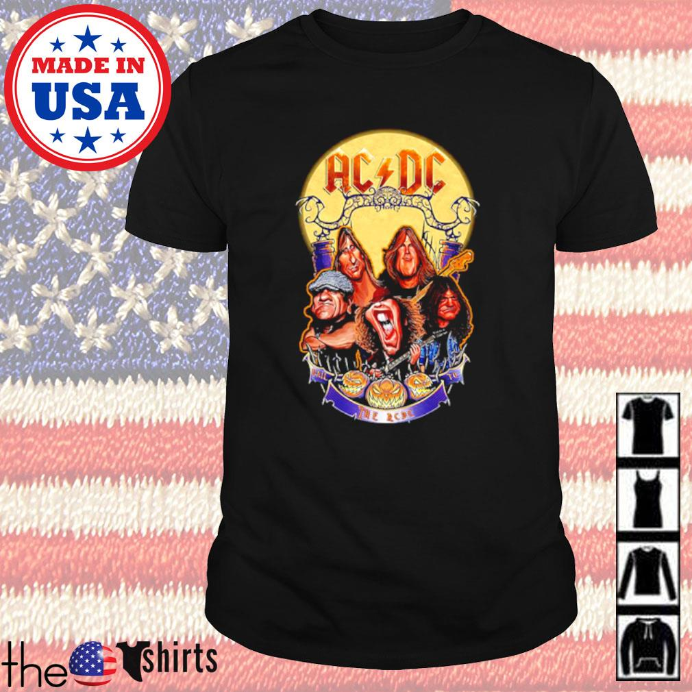 ACDC Hall the ACDC to Halloween shirt