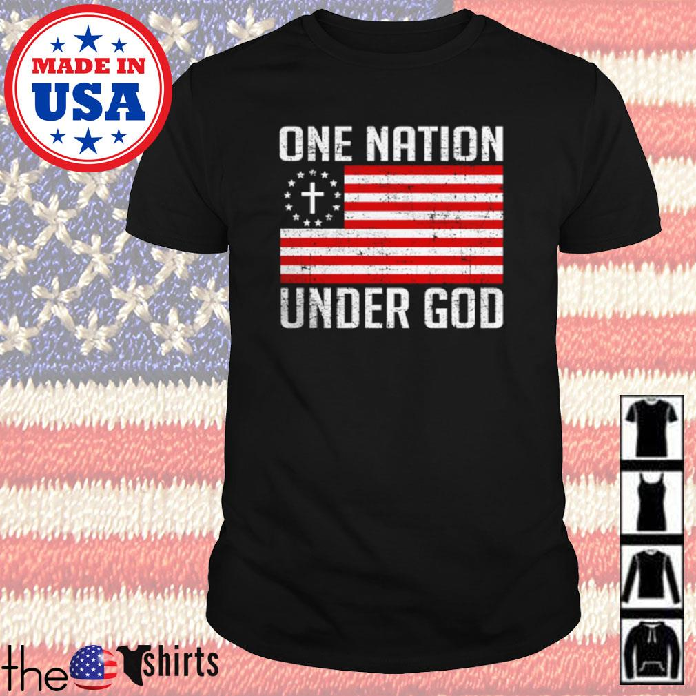 American One nation under god shirt
