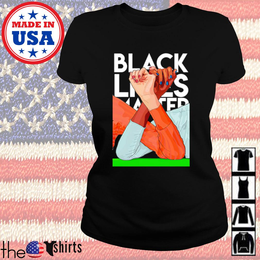 Arm-Wrestling Black Lives Matter s Ladies Tee Black
