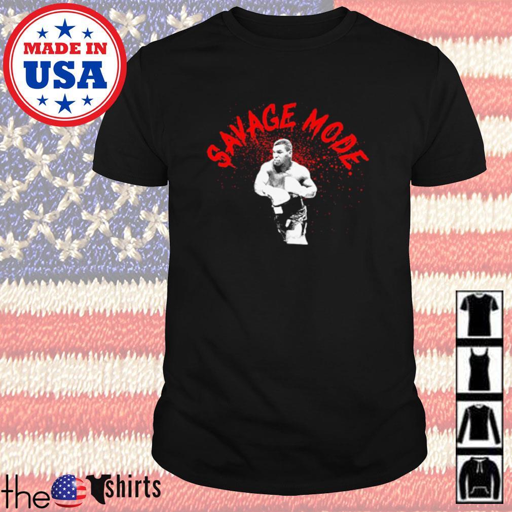 Boxing Mike Tyson savage mode shirt