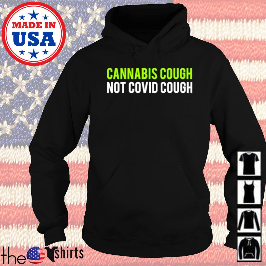 Cannabis cough not COVID cough s Hoodie Black